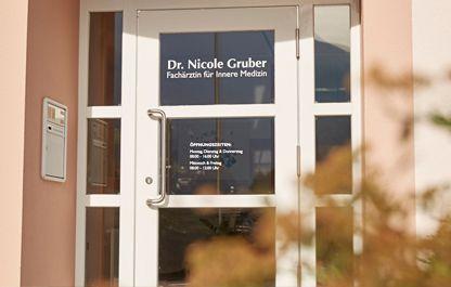 Ordinationszeiten Facharztpraxis Dr. Gruber